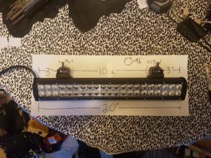 K Dykstra 20 inch light bar